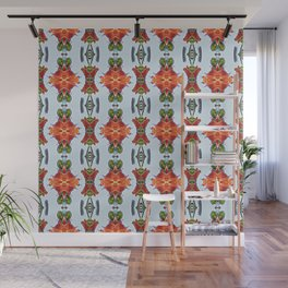 Royal Poinciana OP Pattern Wall Mural