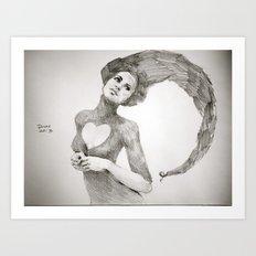 Love Dwarf Art Print