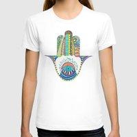 hamsa T-shirts featuring HAMSA by Heaven7