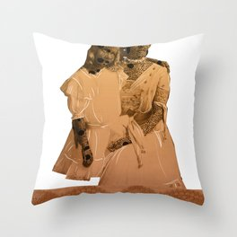 Mrs Smither-Henry Throw Pillow