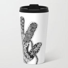 Zentangle®-Inspired Art - ZIA 33 Metal Travel Mug