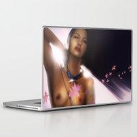 pocahontas Laptop & iPad Skins featuring Pocahontas by JéTaun