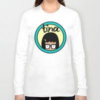 daria Long Sleeve T-shirts featuring Tina by Page394