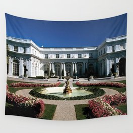 Newport Mansions, Rhode Island - Rosecliff - Original Great Gatsby Mansion by Jeanpaul Ferro Wall Tapestry