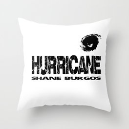 """Hurricane"" Throw Pillow"