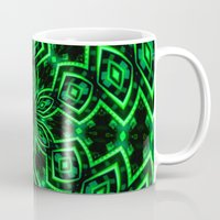 rave Mugs featuring Rave Explosive by Julie Maxwell