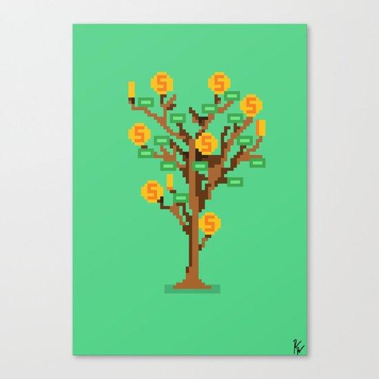 Money Trees Canvas Print