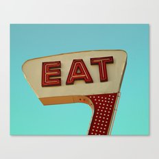 Eat Canvas Print