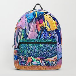 Camping Bag Dishes Backpack