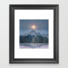 Chasing Lights Framed Art Print