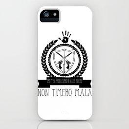 Non Timebo Mala iPhone Case
