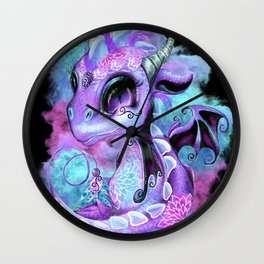 Lil DragonZ - Elements Series - Wind Wall Clock