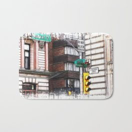 The corner of 15th street and market Bath Mat