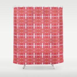 Psychedelic 70's Shower Curtain