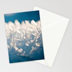 Mountain Snow Macro Stationery Cards