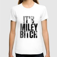 miley cyrus T-shirts featuring Miley Cyrus by BreakoutStore