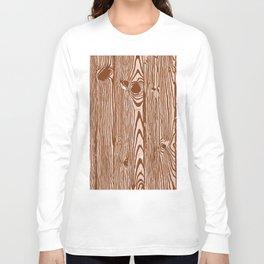c13D Woodgrain Long Sleeve T-shirt