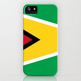 Flag of Guyana iPhone Case