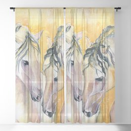 Forever Friend Sheer Curtain