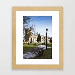 Priory Church, Dunstable Bedfordshire Framed Art Print