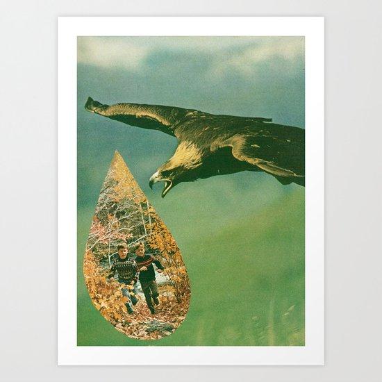 swoop Art Print