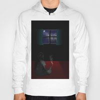 lonely Hoodies featuring Lonely by ElmStStudio