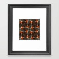 Salad Spinner Pattern Framed Art Print