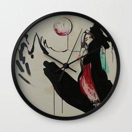 Vampire Story Wall Clock