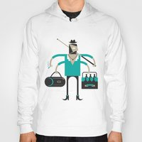 indie Hoodies featuring Back to Indie Business by Mr Panesar, Illustration & Design