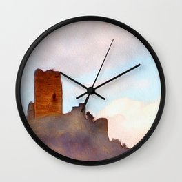 The Lonely Castle Wall Clock