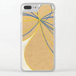 "Hilma af Klint ""The Seven-Pointed Star No. 1"" Clear iPhone Case"