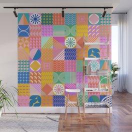 Shapes 81 Wall Mural