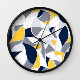 Abstract winter mood II Wall Clock