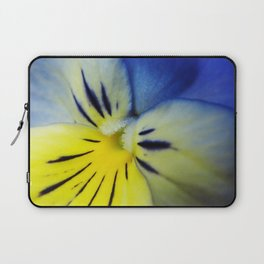 Flower Blue Yellow Laptop Sleeve