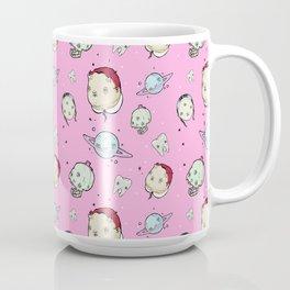 Creepy Pink Pattern Coffee Mug