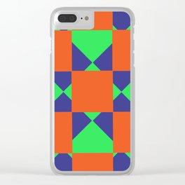 Geometric Clear iPhone Case