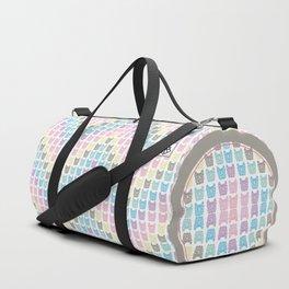 Frenchie chevron Duffle Bag