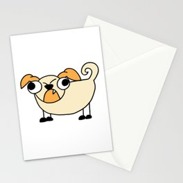 Dog Funny looking Design Print Stationery Cards