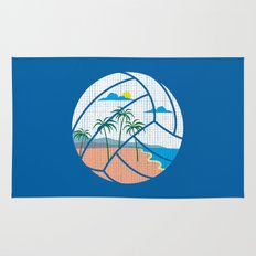 Beach Volleyball Rug