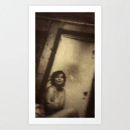 Katie, Vintage Art Print