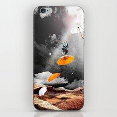 JUST BEFORE THE RAIN OF RUST iPhone & iPod Skin