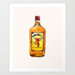 Fireball Art Print