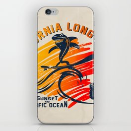 Surf Art Surf Decor iPhone Skin
