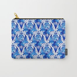 Renaissance gryphon seamless pattern Carry-All Pouch