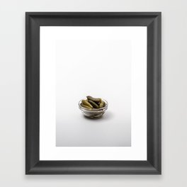 Cornichons Framed Art Print