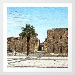 Karnak20160203 Art Print