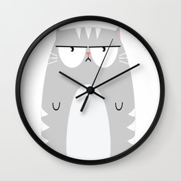 Not A People Person Wall Clock