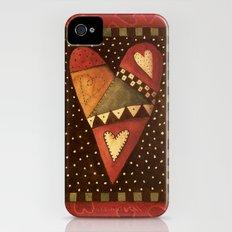 Crazy For Love Slim Case iPhone (4, 4s)
