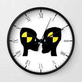 Test Dummy Love Wall Clock