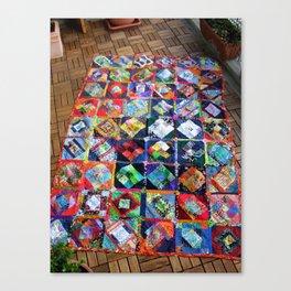 The Roadrunner Quilt Canvas Print